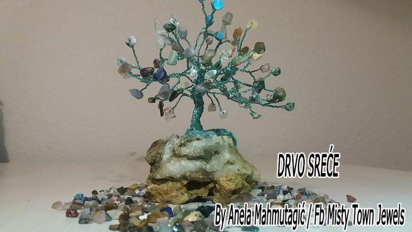 Drvo, Drvo sreće, kristali, Anela Mahmutagić, Maglaj, sreća