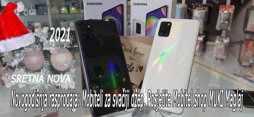 Novogodišnja rasprodaja: Mobiteli za svačiji džep. Posjetite Mobitel shop MUKI Maglaj