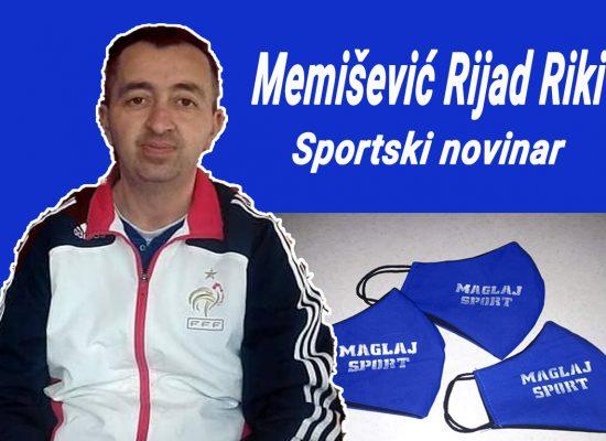 Maglajsport, Memišević Rijad Riki, sportski novinar