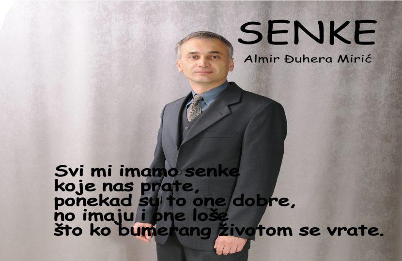 Senke, ljubavna poezija, Almir Đuhera Mirić