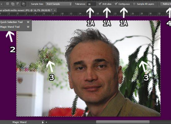 Kako napraviti prozirnu pozadinu u Adobe Photoshopu